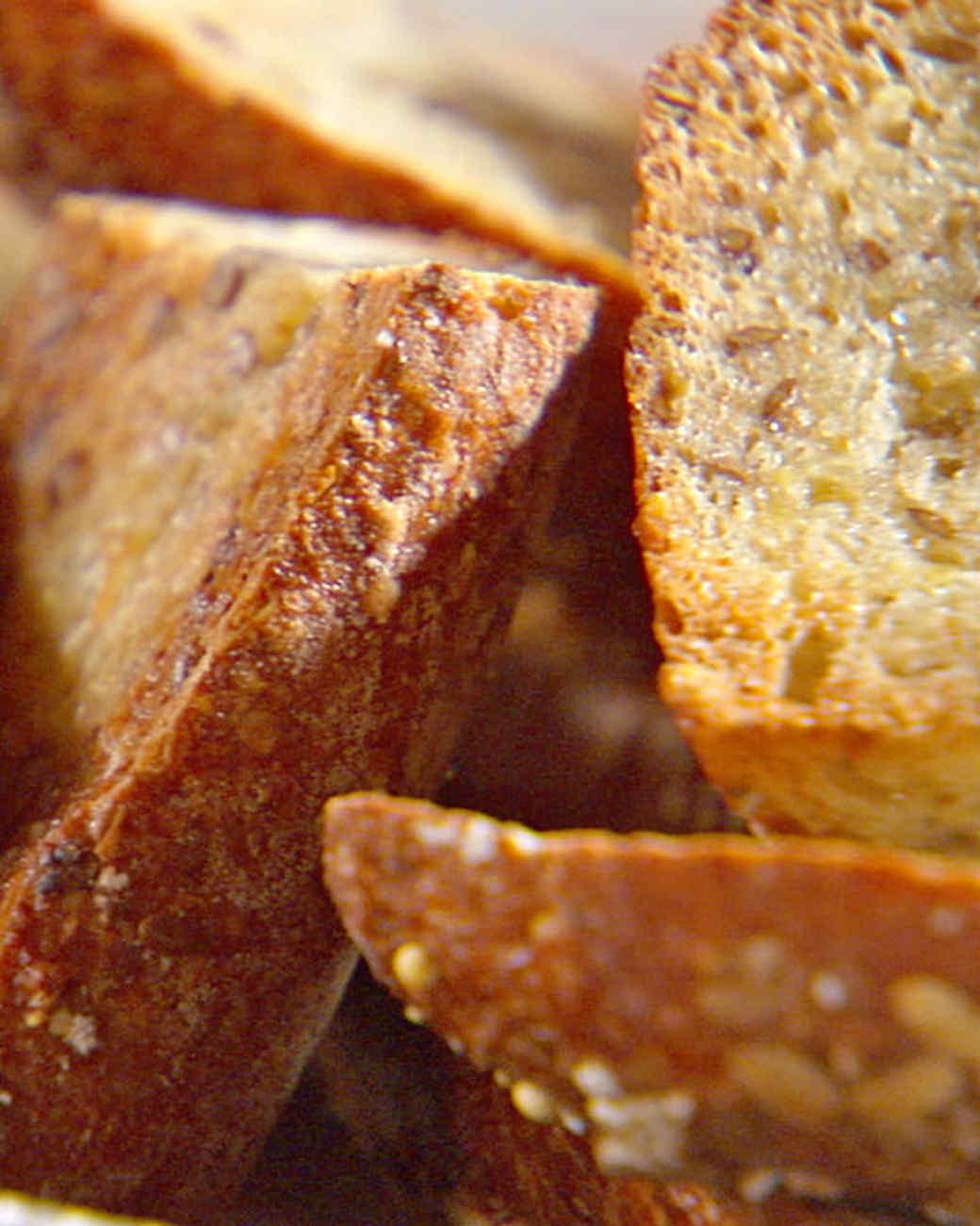 Olive Oil Garlic Crostini