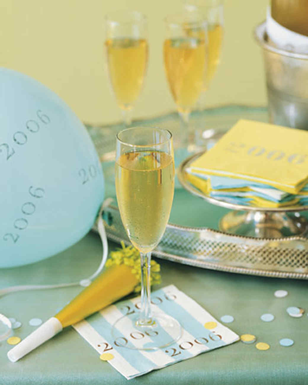 Decorations for New Year\'s Eve | Martha Stewart