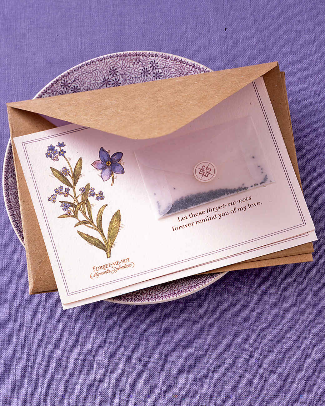 Martha Stewart Card Making Ideas Part - 43: Affectionate Seed Cards