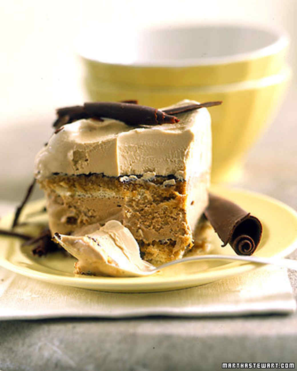 Tiramisu Ice Cream Cake Recipe | Martha Stewart
