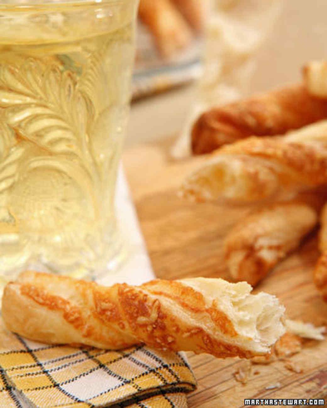 Parmesan Cheese Straws