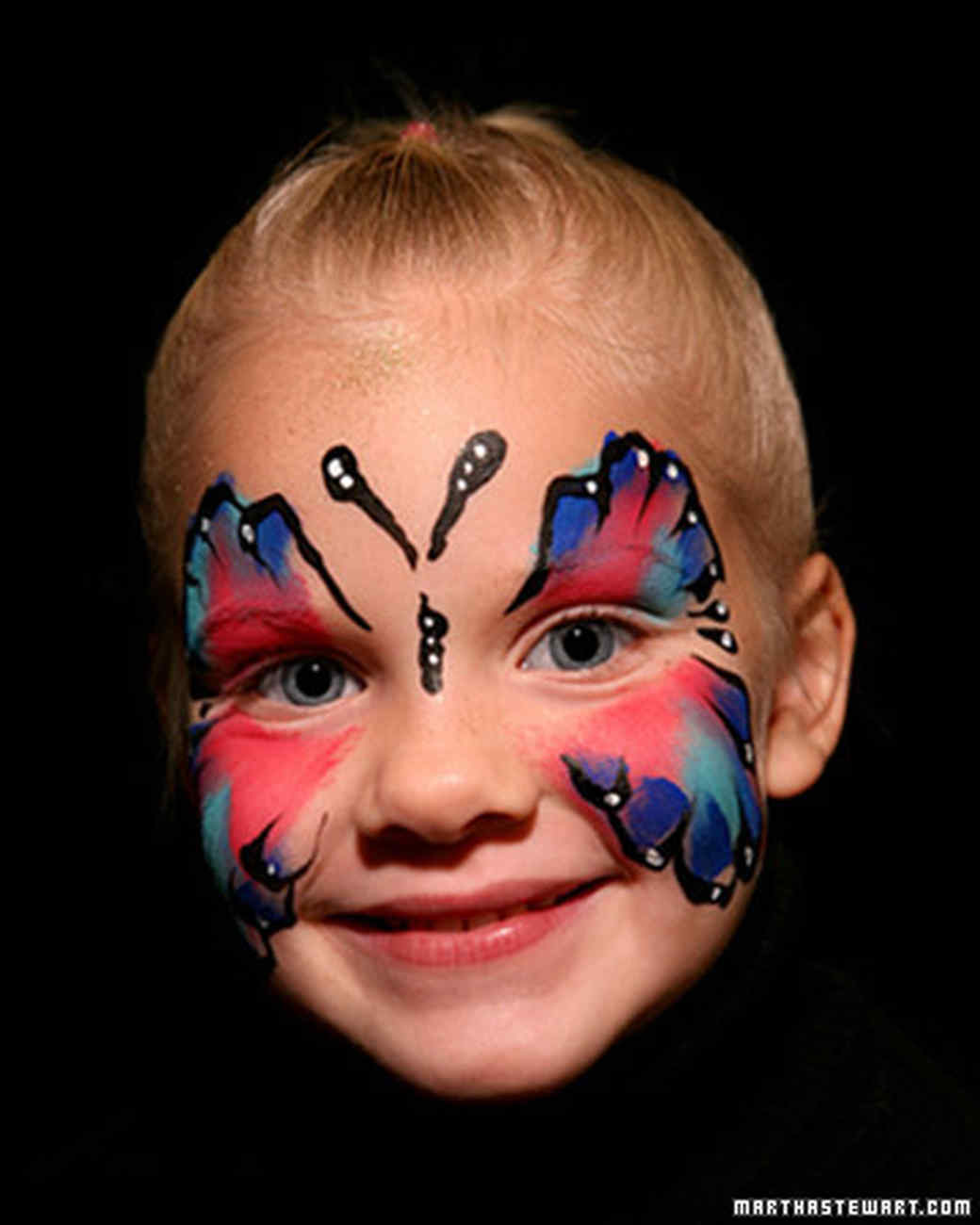 Uncategorized Face Paintings For Halloween halloween face painting video martha stewart painting