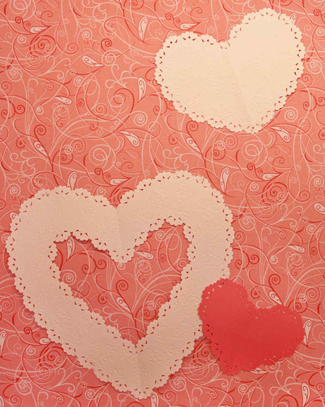 heart shaped crafts martha stewart