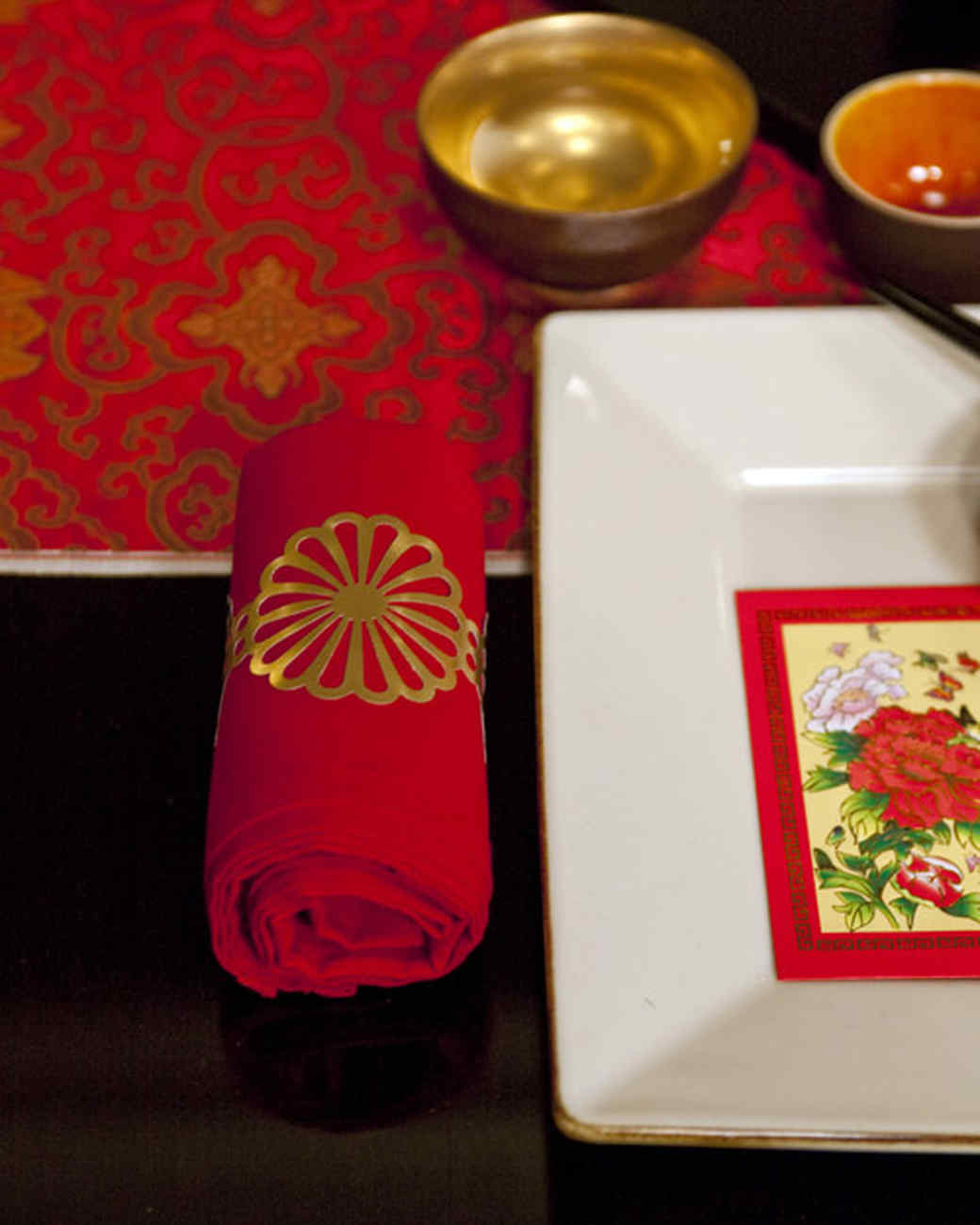 Edge-Punched Napkin Ring