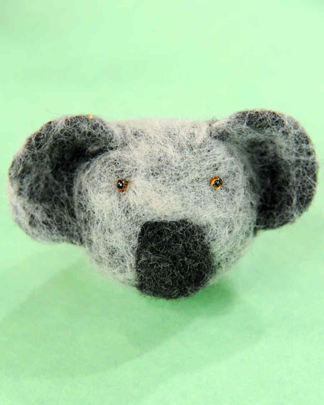 Felted Koala Bear