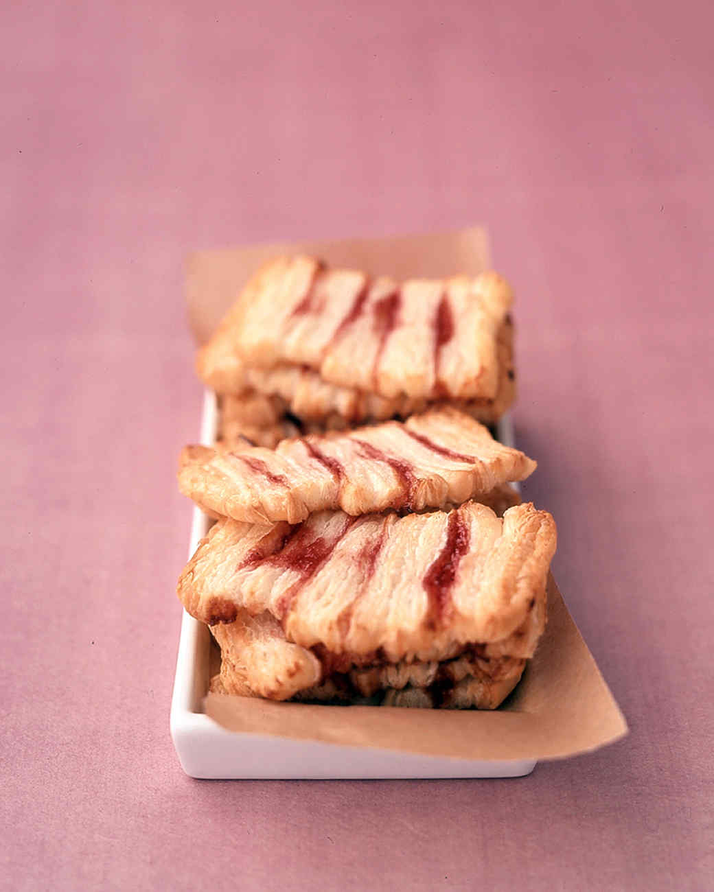 Easy Raspberry Pastries