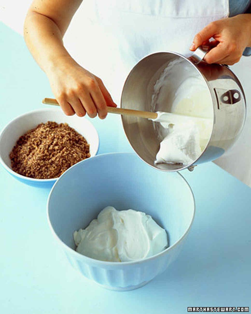 Chocolate-Macadamia Semifreddo