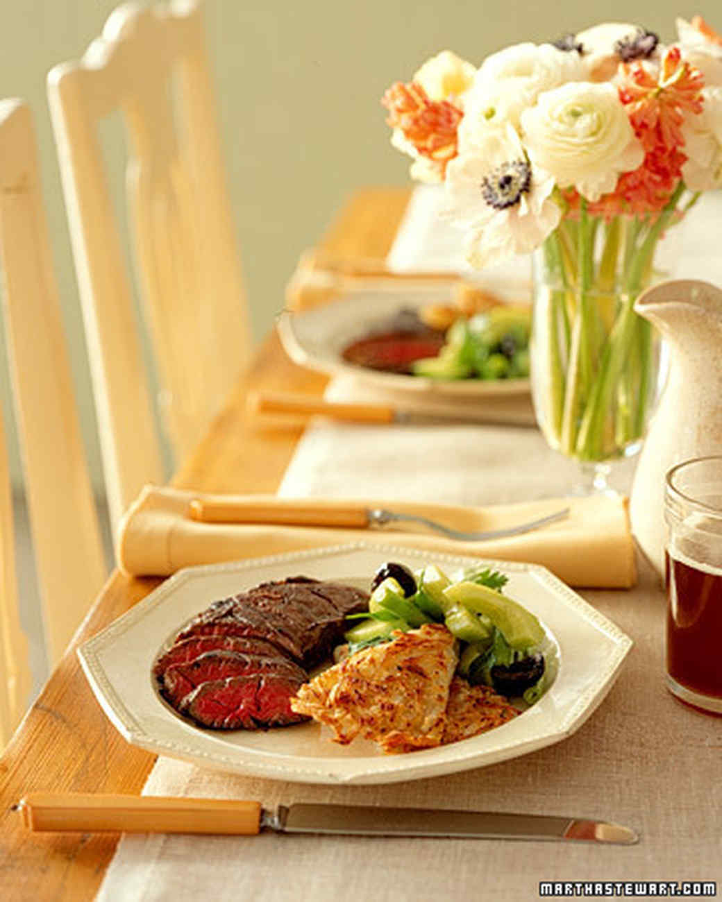 Lovely February Dinner Party Ideas Part - 11: Martha Stewart