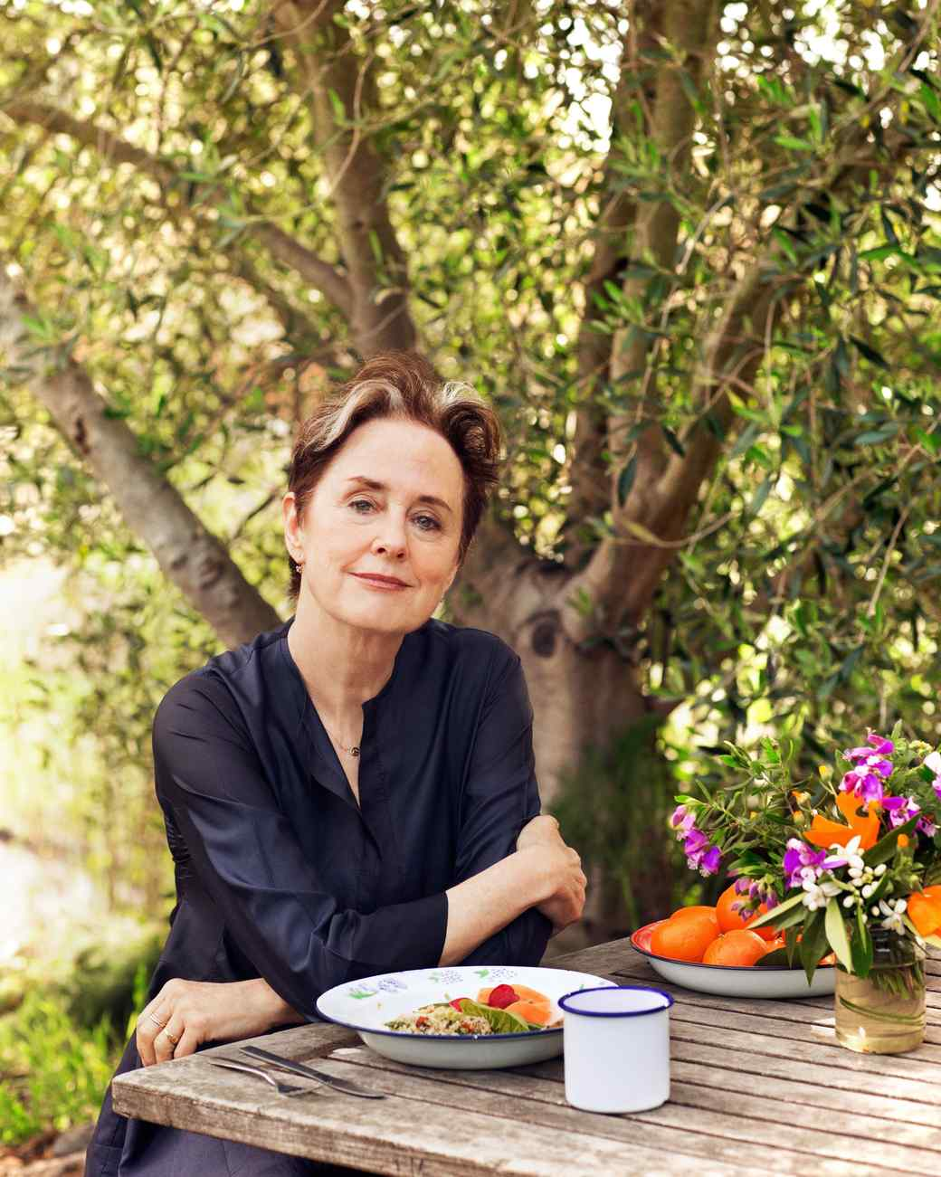 Alice Waters chef and cookbook author