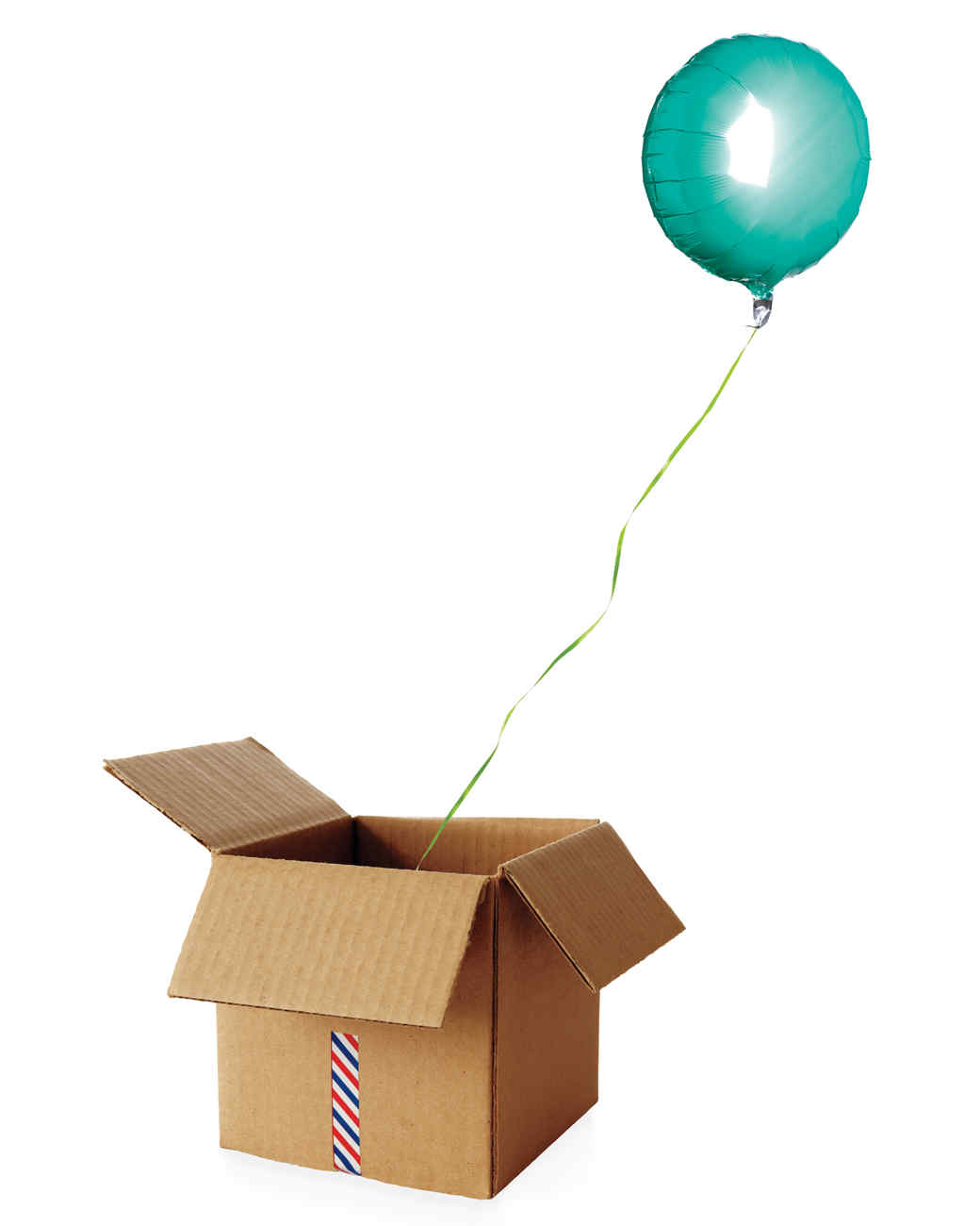 Three Themes for a  Baby Shower in a Box   sc 1 st  Martha Stewart : baby balloon in a box - Aboutintivar.Com