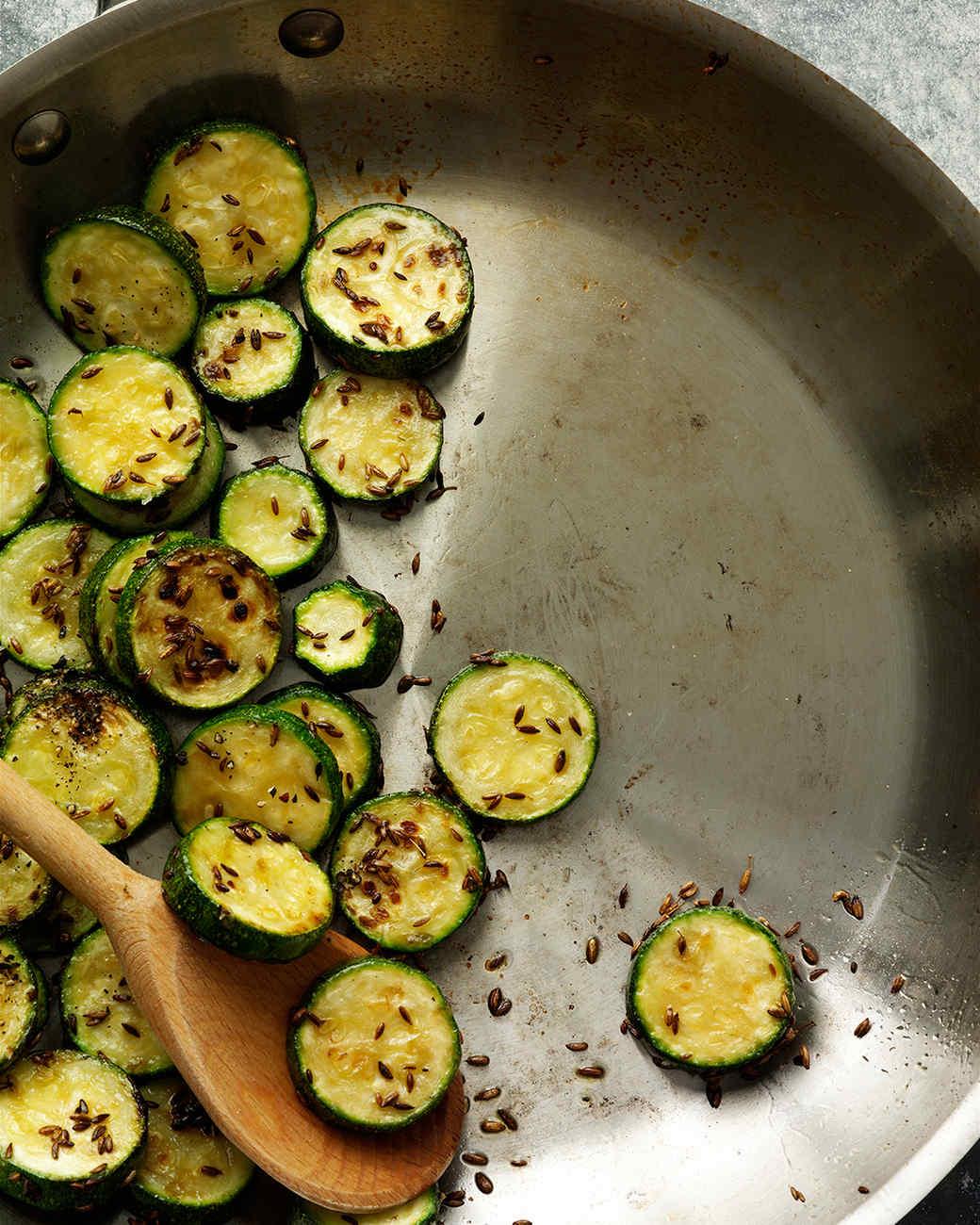 Spiced Zucchini