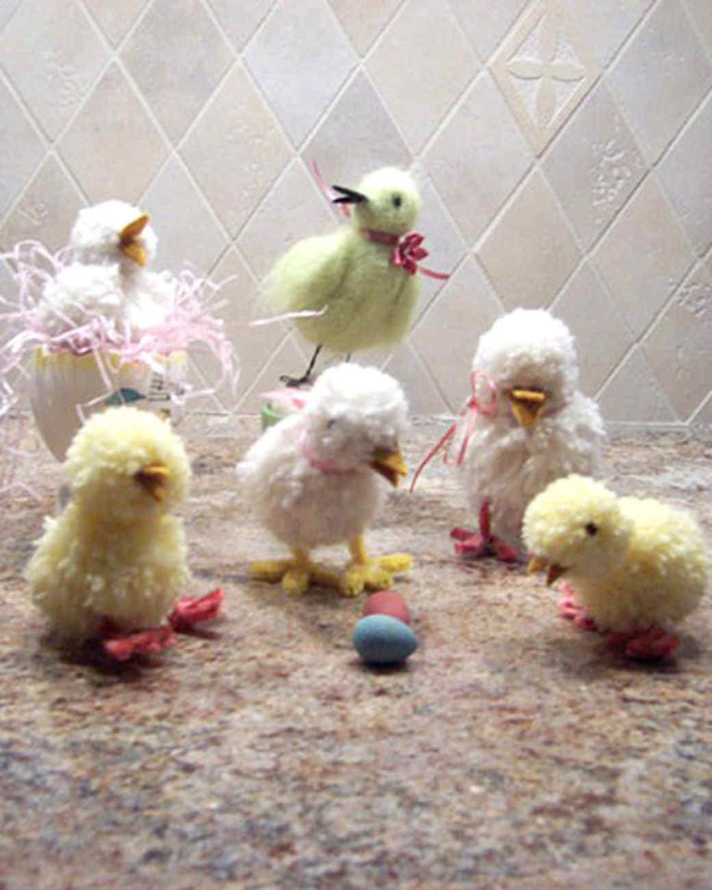 Your Easter Chicks Martha Stewart