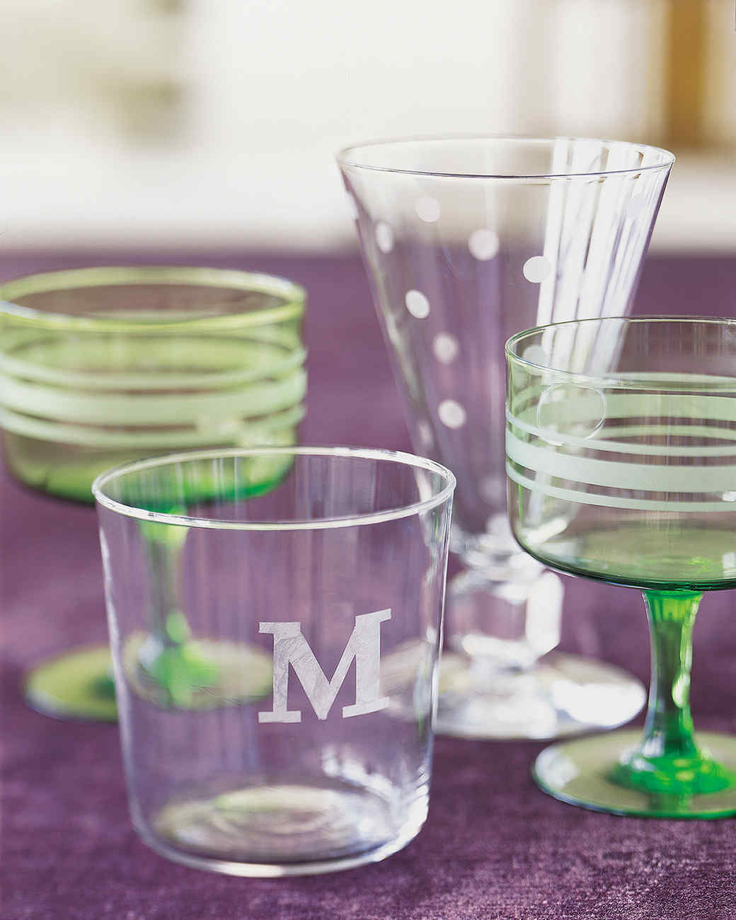 How to make wedding glasses yourself - several different ways