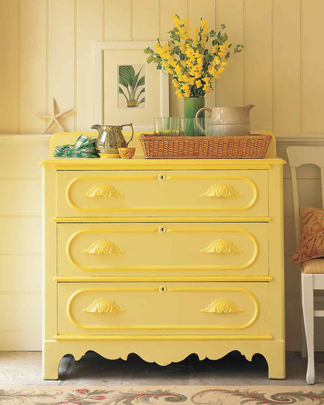 Antique Yellow Bedroom Furniture Bedroom Colour Design Ranch Bedroom Decor Cool Kid Bedrooms For Girls: Martha Stewart