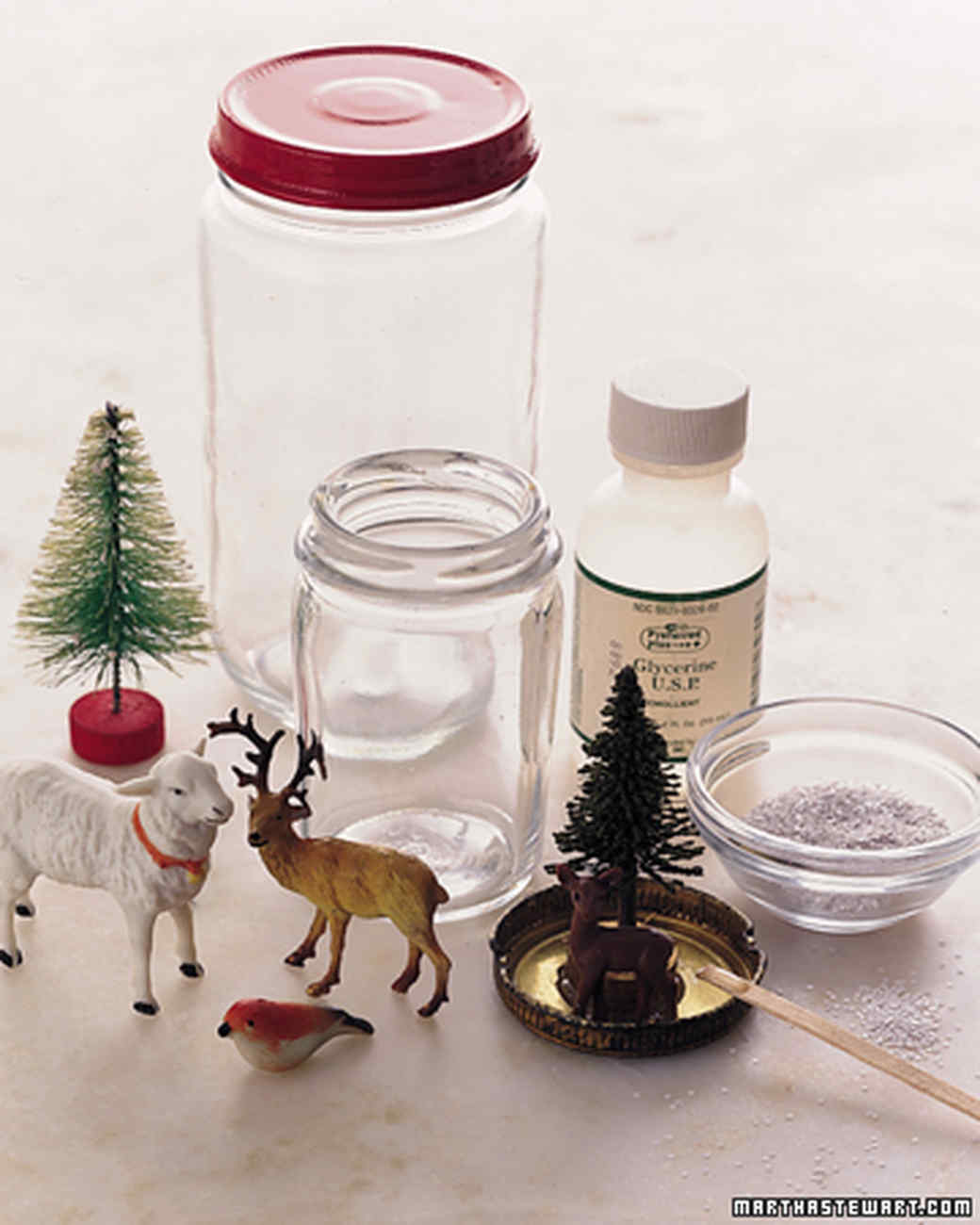 How To Make A Snow Globe Martha Stewart