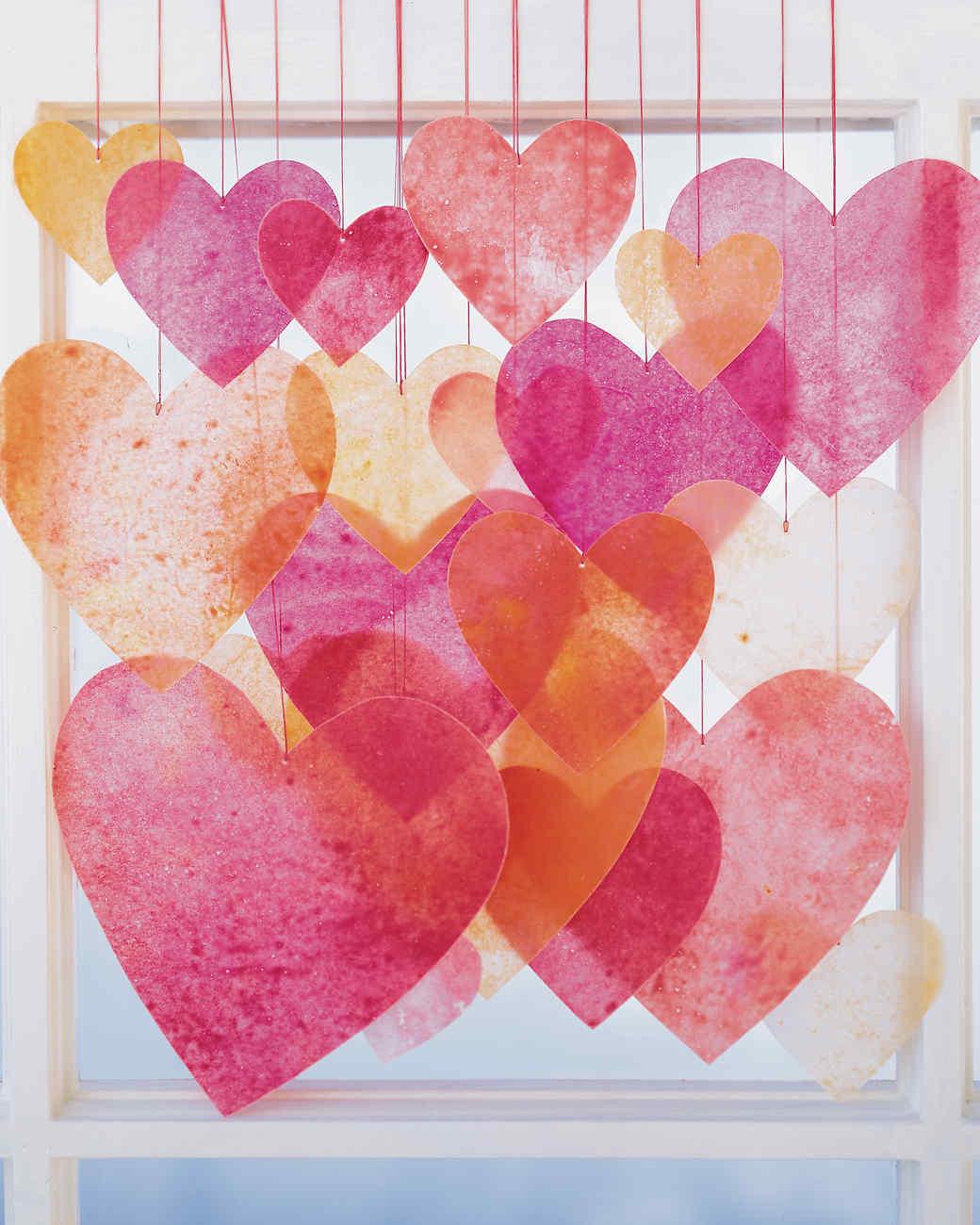 Kids Valentines Craft Ideas Part - 29: Martha Stewart