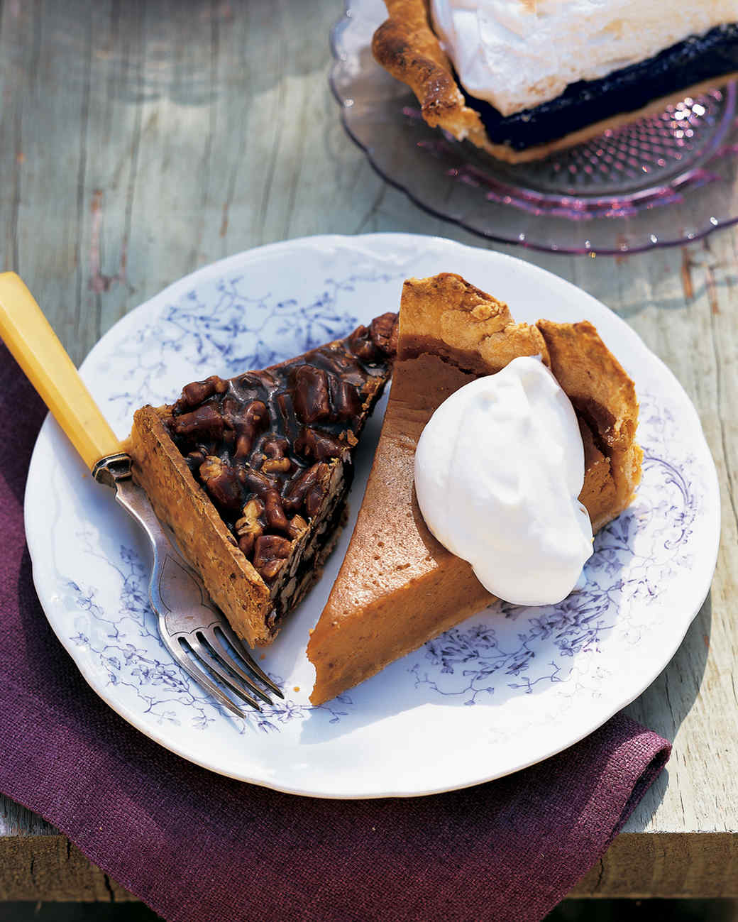 Texas Hill Country Spiced Pumpkin Pie
