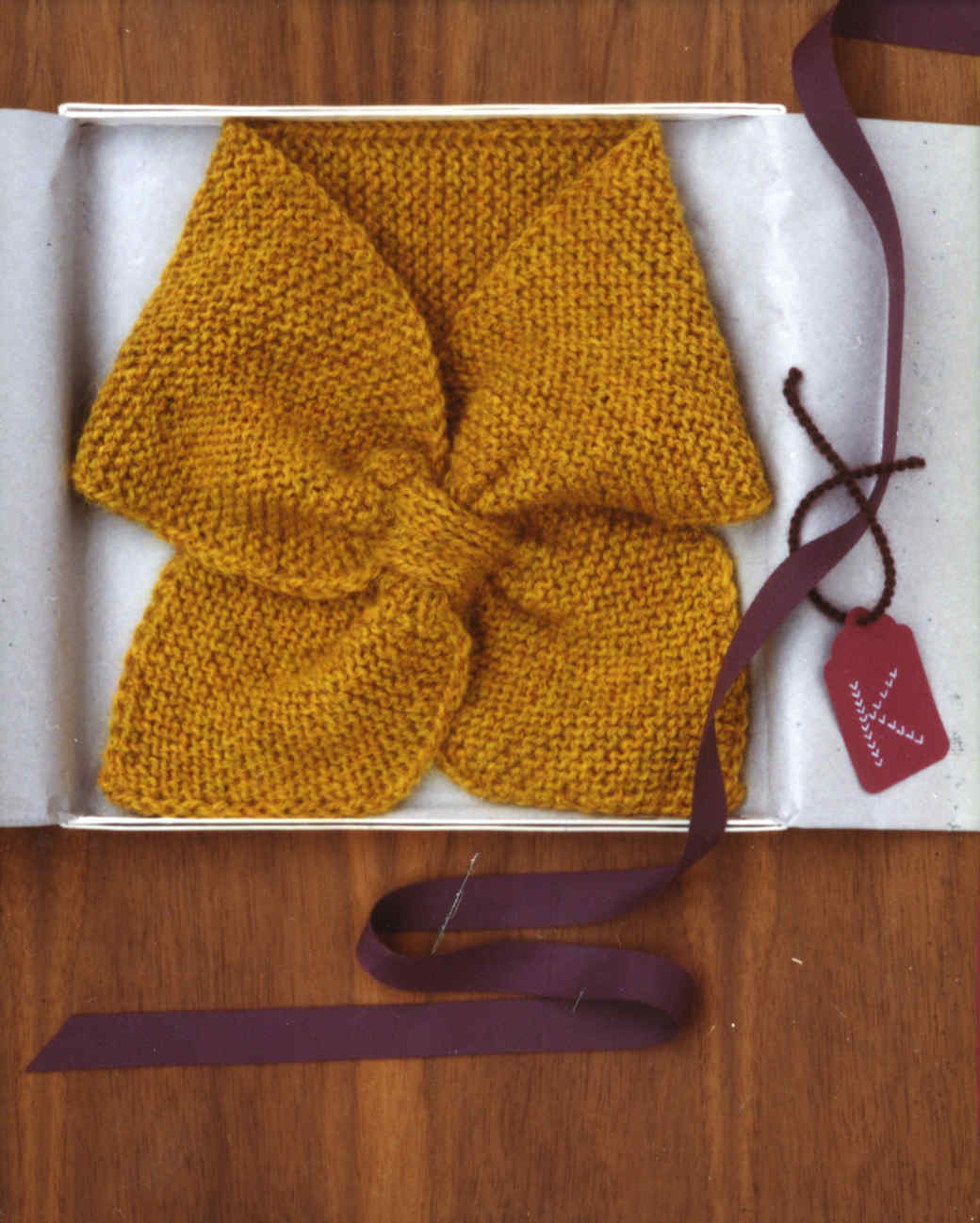 knit neck scarf