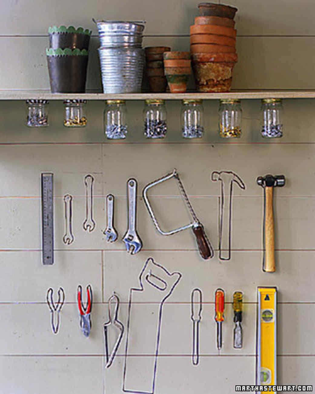 Organizing The Garage Ideas Part - 44: Tool Wall