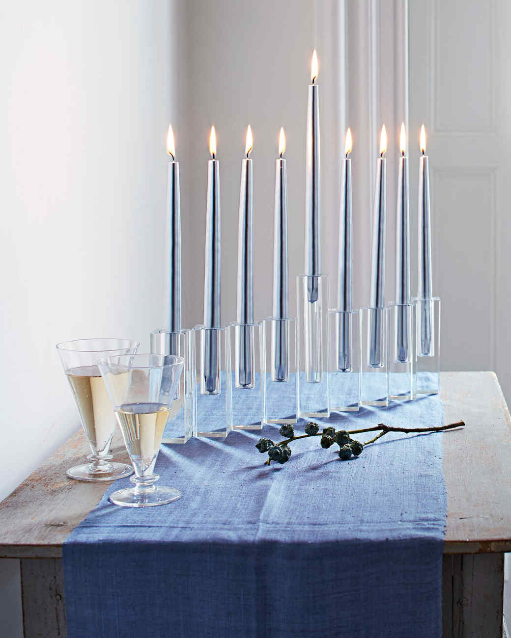 menorah diy