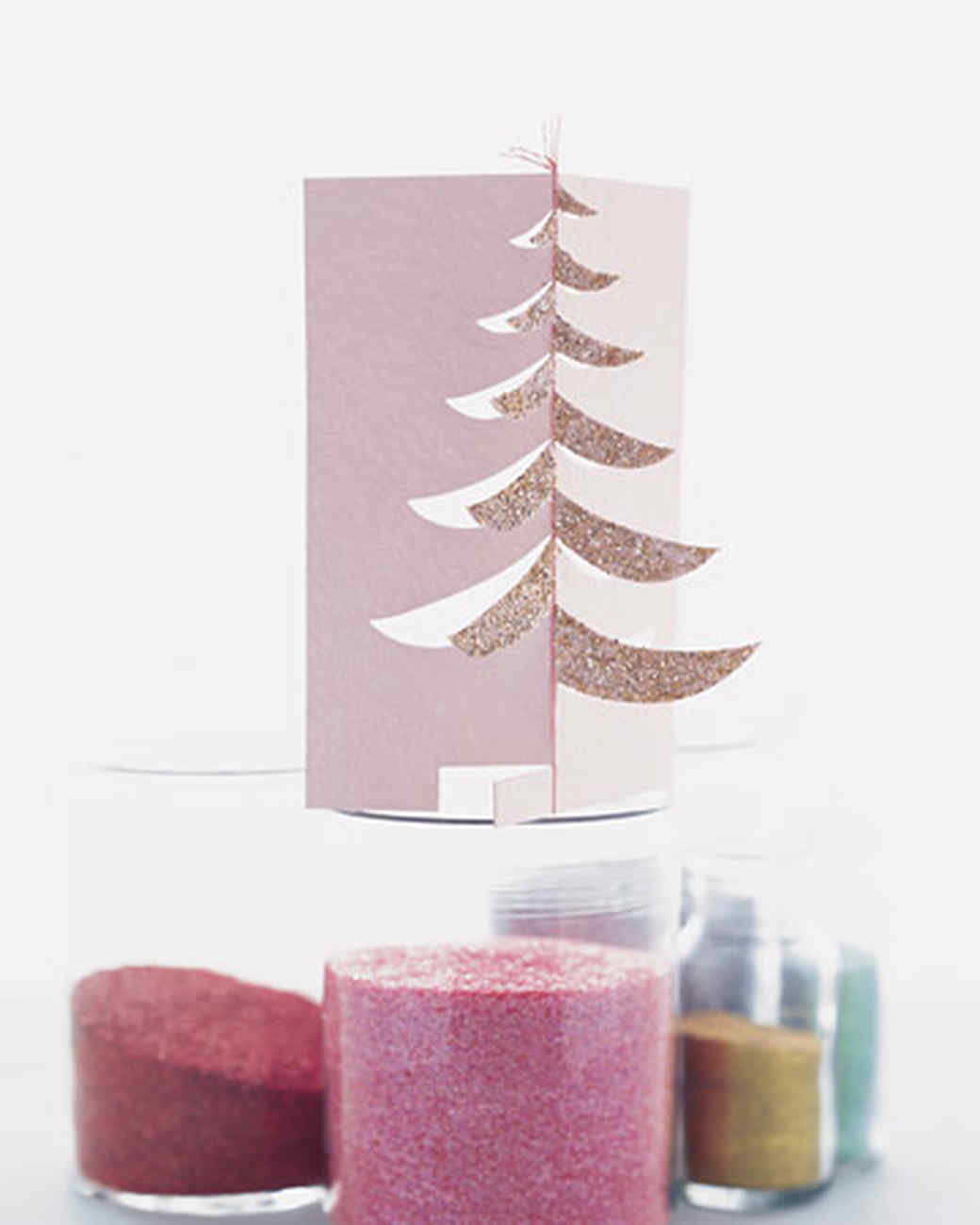Puzzle-Cut Pine Tree Cards