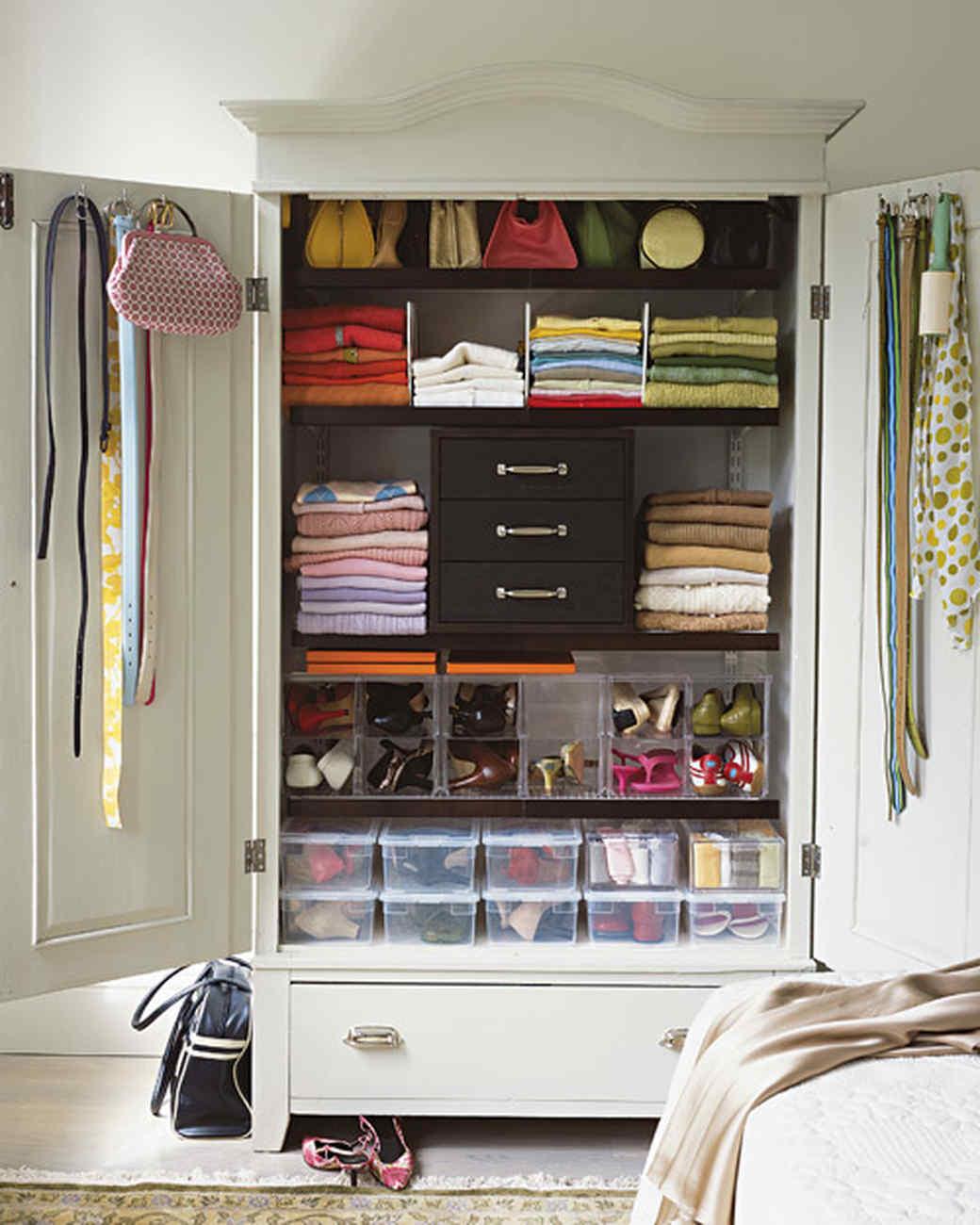 Ideas For Organizing Closets Part - 44: Martha Stewart