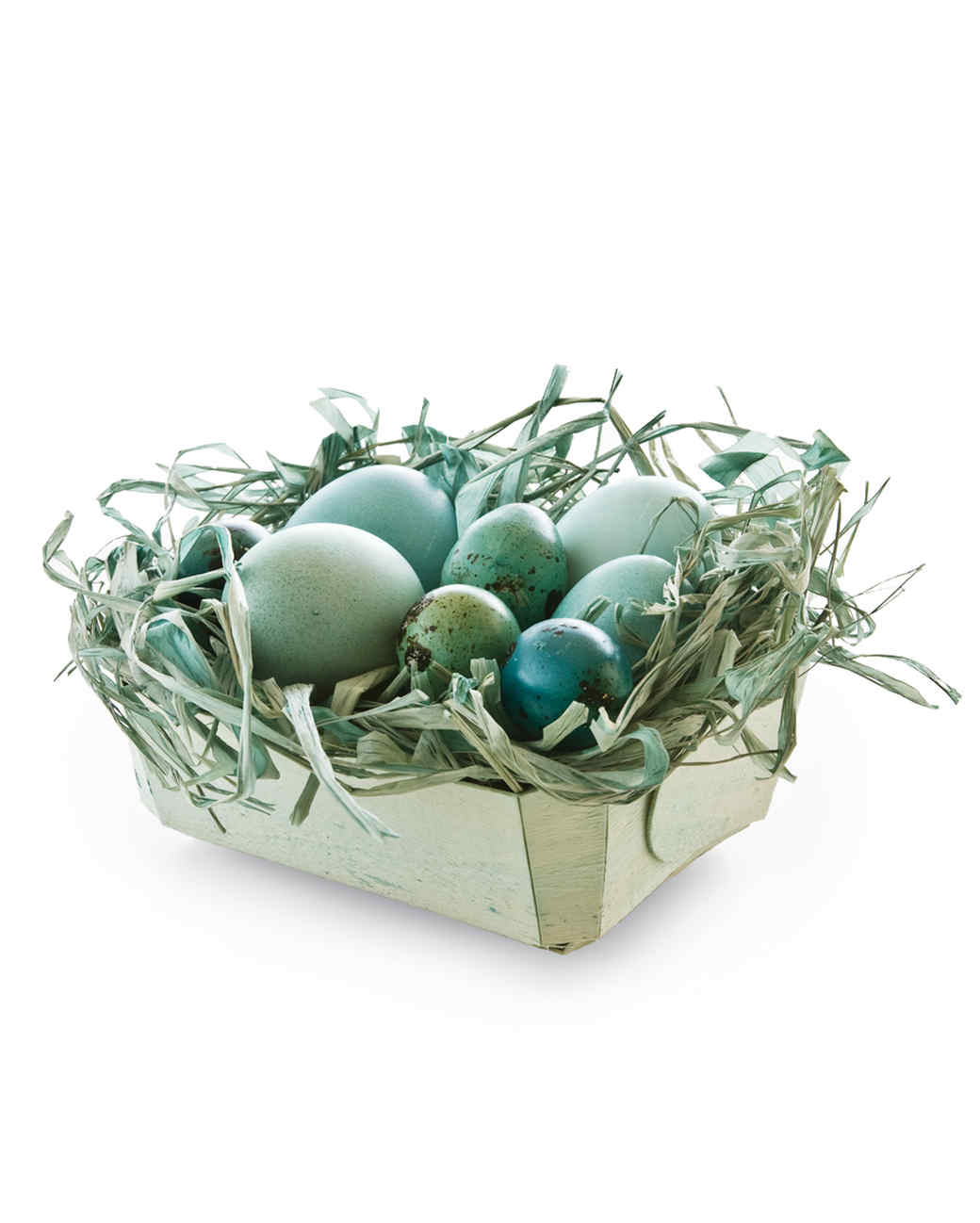 Dyed easter baskets martha stewart dyed easter baskets negle Images