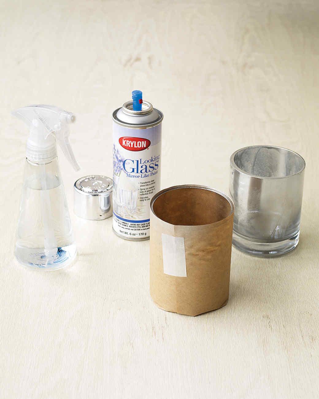Materials Glass Candleholders