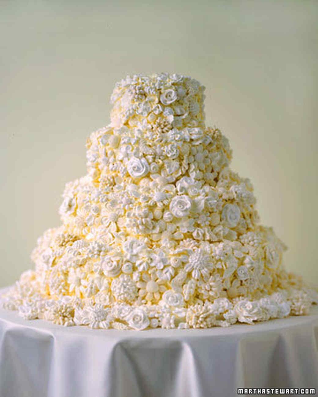 White On White Cakes Martha Stewart