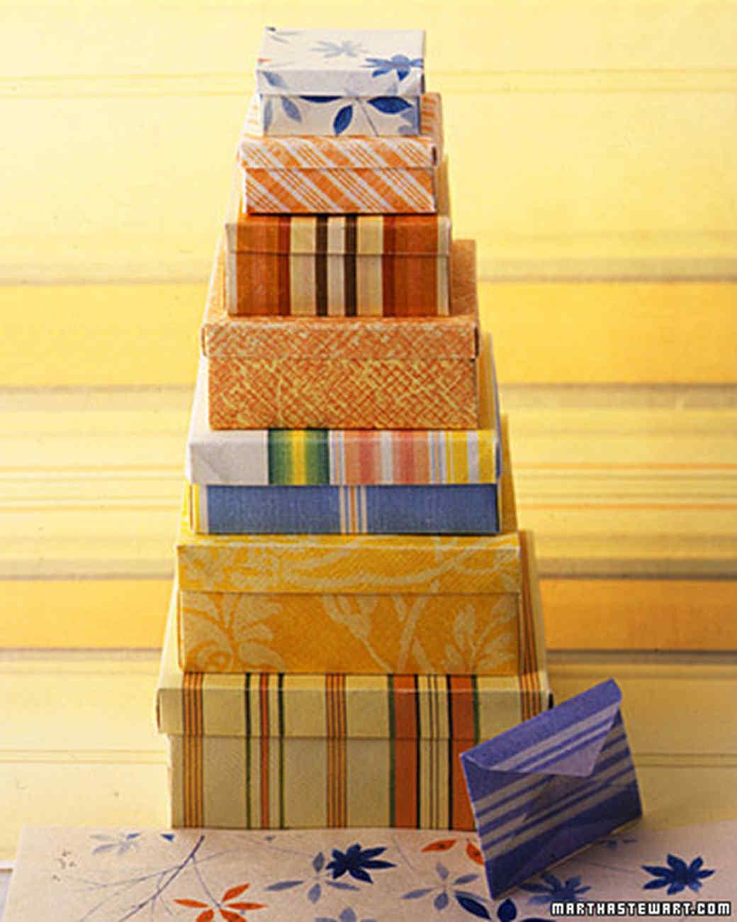 Origami Nesting Boxes
