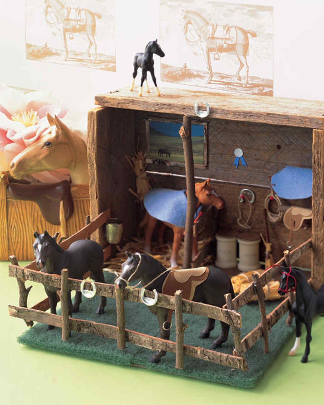 Stable Diorama