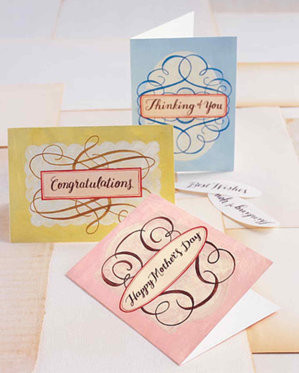 Message Cards | Martha Stewart