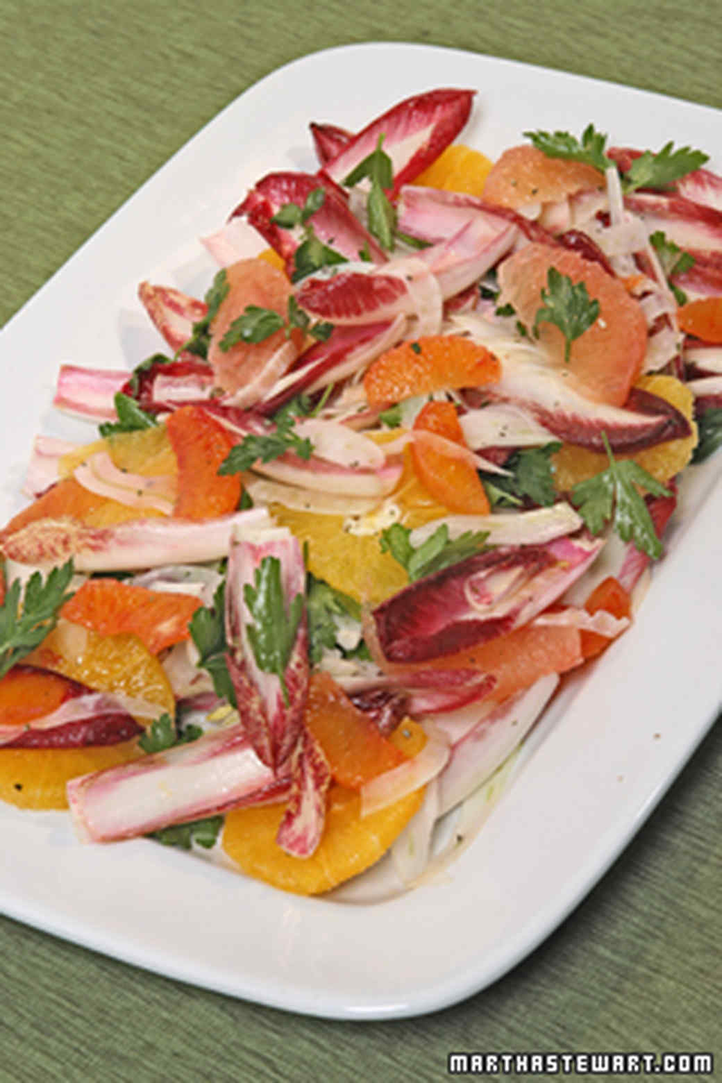 Citrus Salad with Endive and Fennel Recipe & Video | Martha Stewart