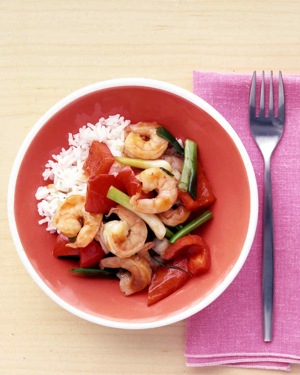 Shrimp and Ginger Stir-Fry