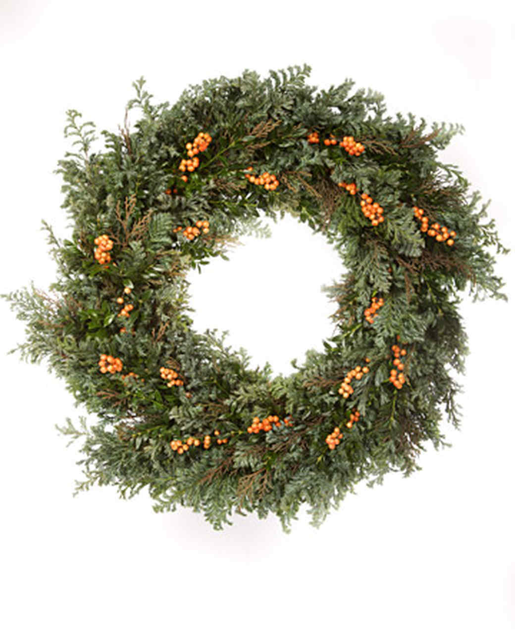 christmas wreath u0026 video martha stewart