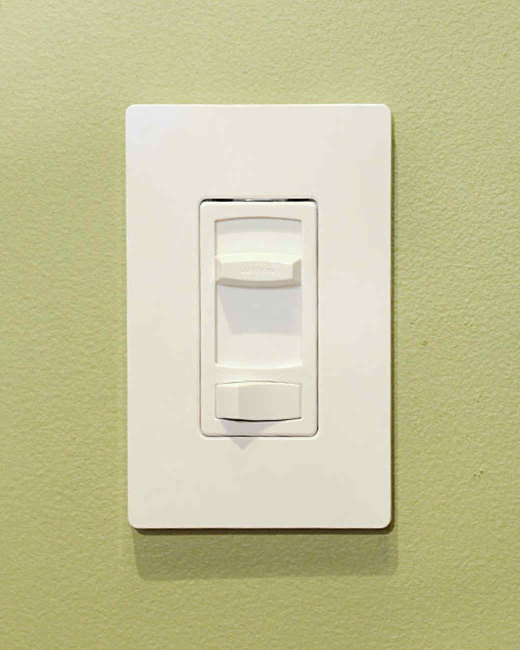 Installing a Dimmer