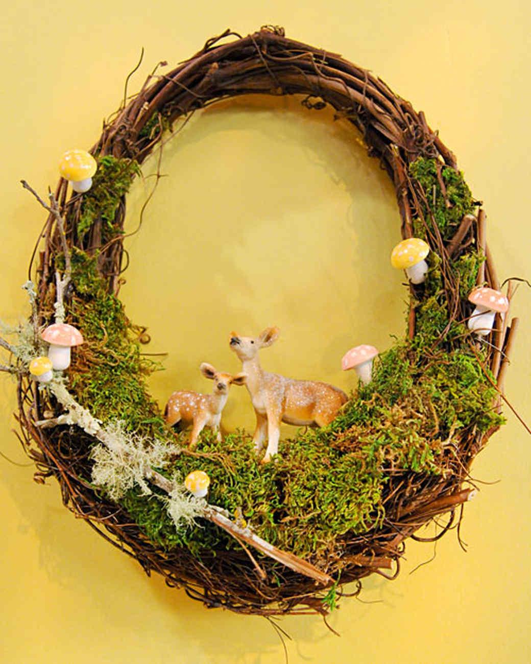Spring Grapevine Wreath