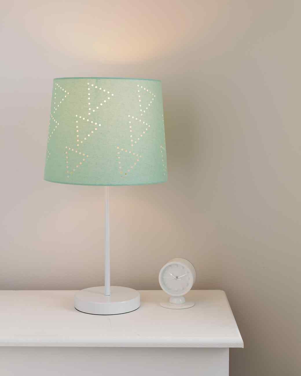 Diy geometric lampshade lamp aloadofball Gallery