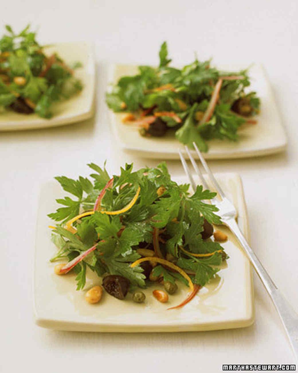 Parsley Leaf Salad