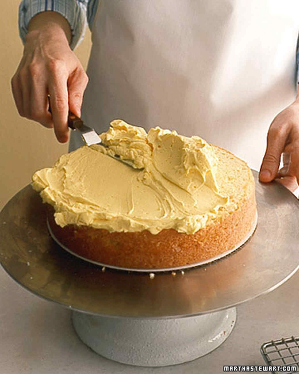 How To Assemble A Layer Cake Martha Stewart