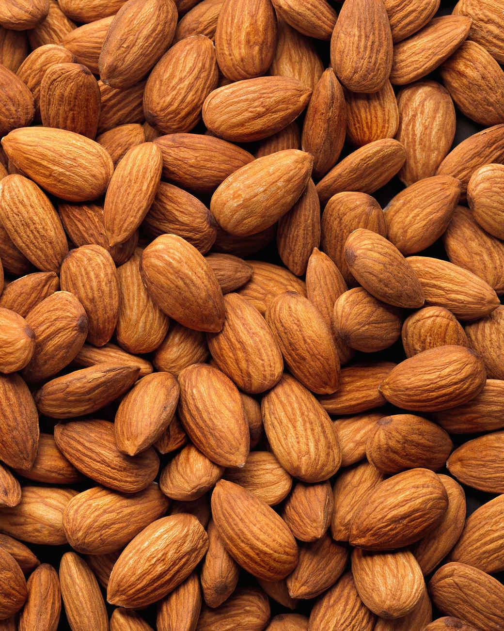 Almonds in California