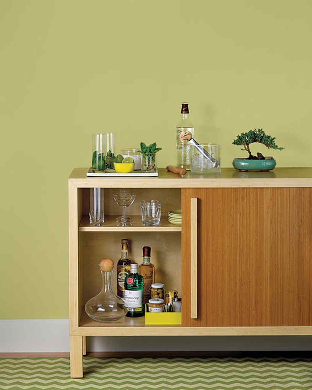 How to Set Up a Bar | Martha Stewart