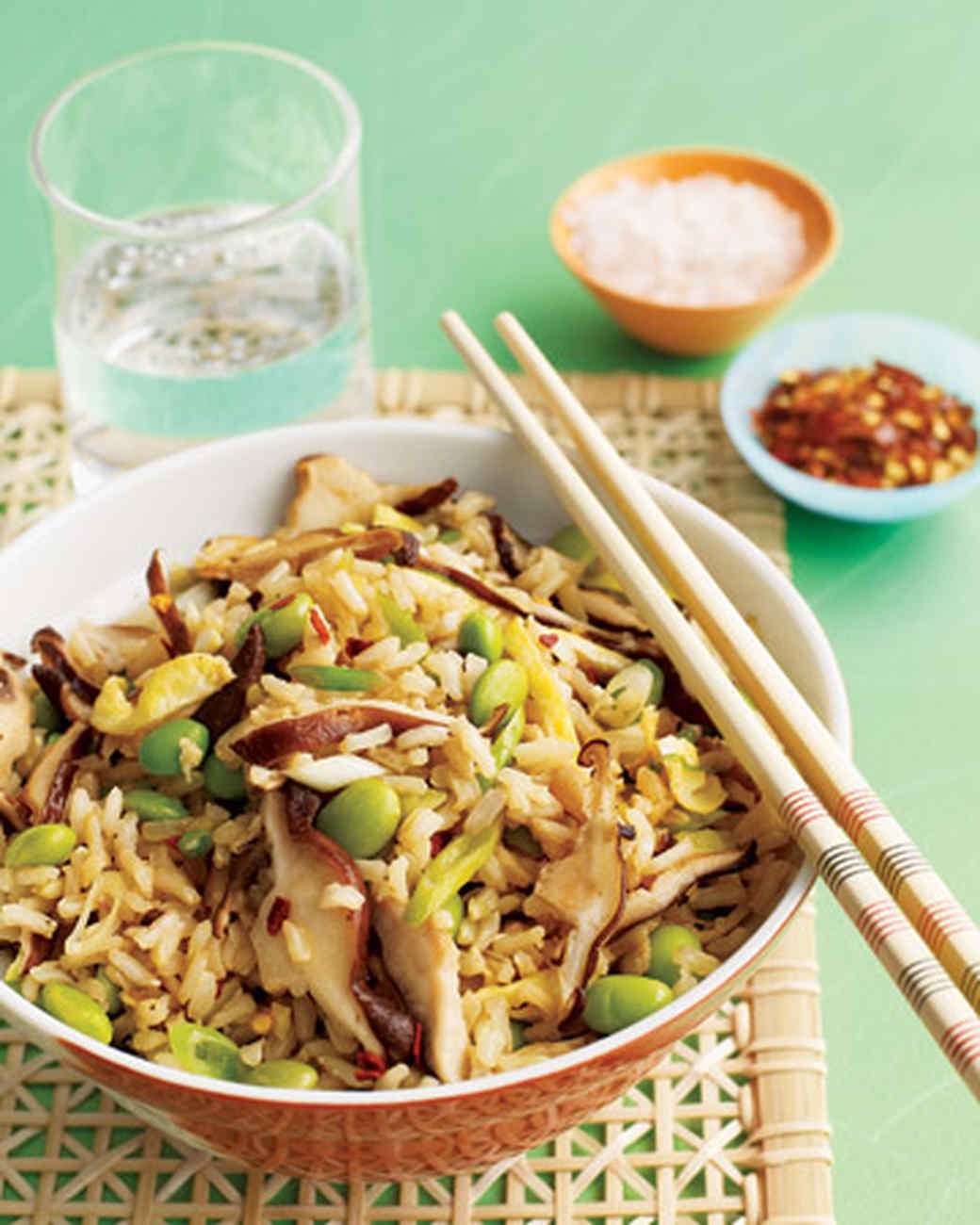 Asian vegetarian recipes martha stewart shiitake fried rice forumfinder Choice Image