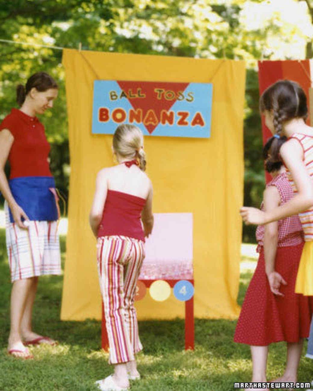 how to throw a kids u0027 carnival party martha stewart
