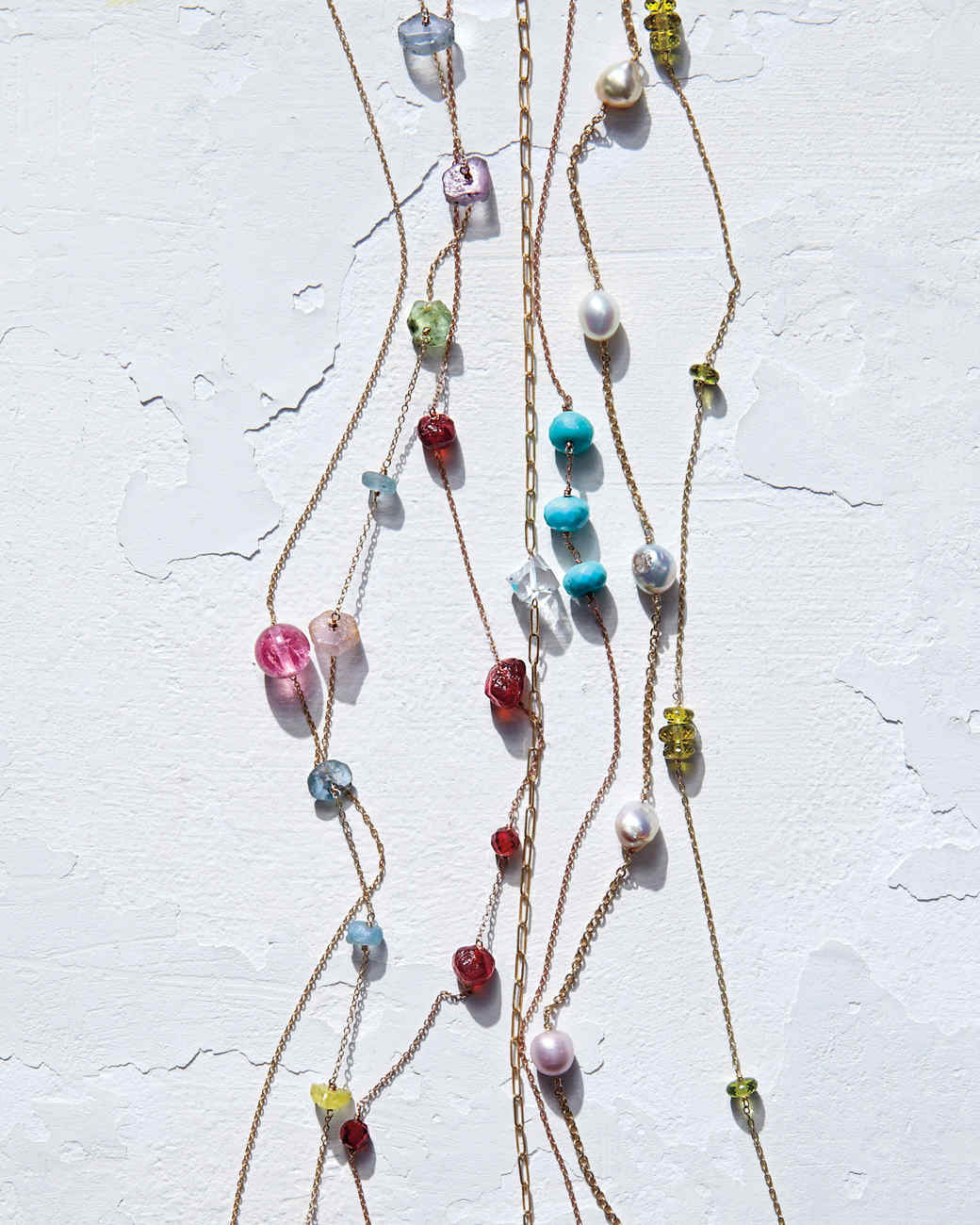 Linked Bead Necklace