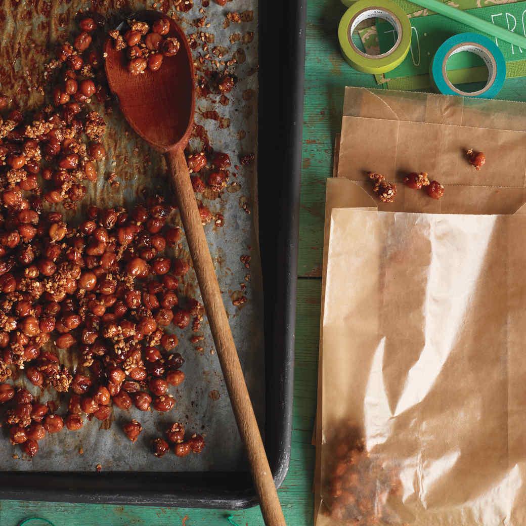 Caramelized Sesame Chickpeas