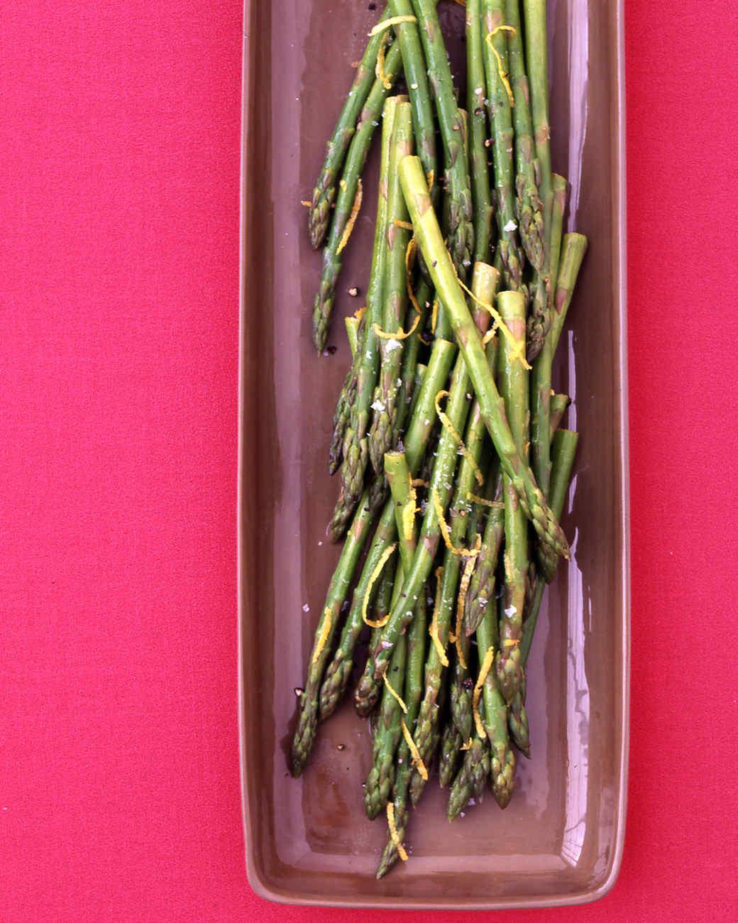 Asparagus with Lemon Butter