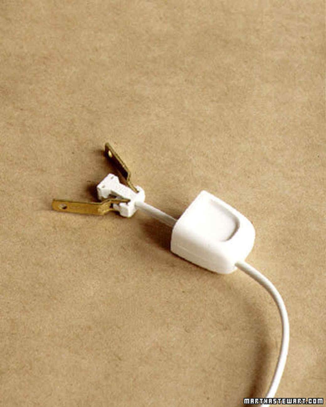 rewiring a lamp martha stewart rh marthastewart com Rewire a Lamp Switch Rewire a Lamp Switch
