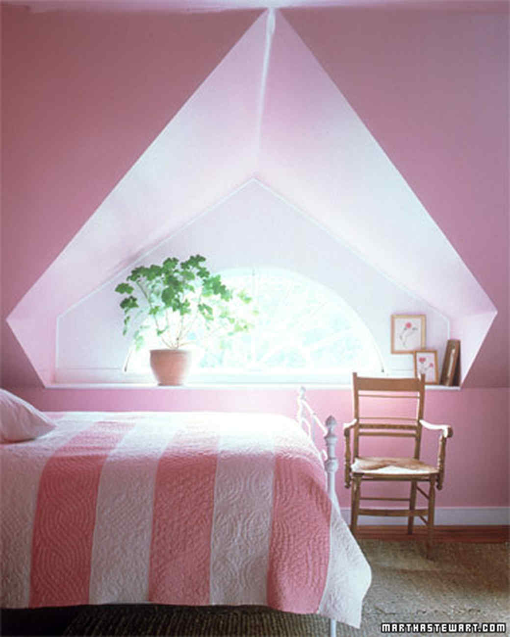 Pink Rooms | Martha Stewart