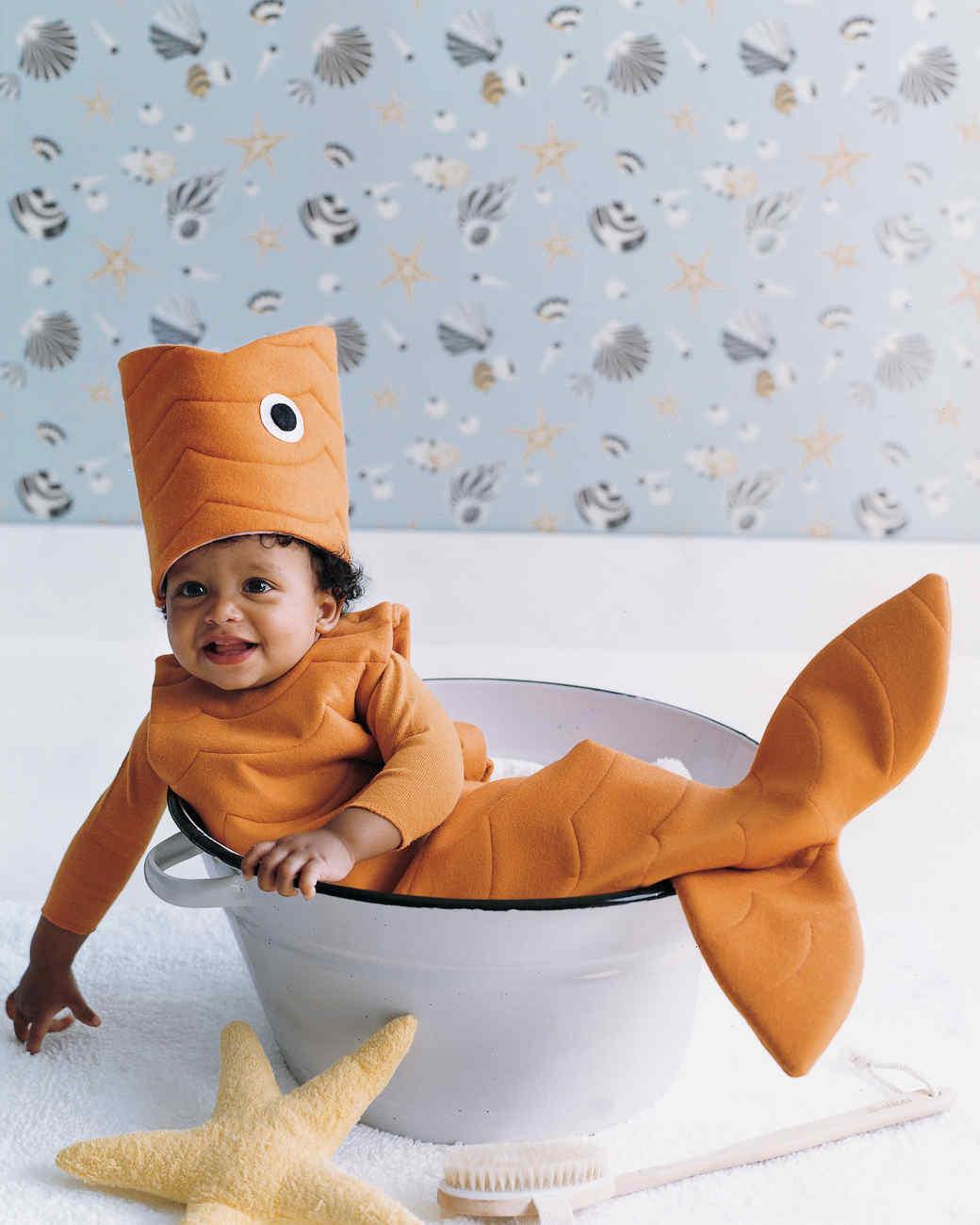 sc 1 st  Martha Stewart & Goldfish Costume | Martha Stewart